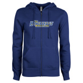 ENZA Ladies Royal Fleece Full Zip Hoodie-Wrestling