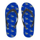 Full Color Flip Flops-CSUB