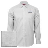 Red House White Diamond Dobby Long Sleeve Shirt-CSU Bakersfield Roadrunners