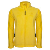 Fleece Full Zip Gold Jacket-B