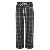 Black/Grey Flannel Pajama Pant-CSU Bakersfield Roadrunners