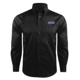 Red House Black Herringbone Non Iron Long Sleeve Shirt-CSUB