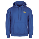 Royal Fleece Hoodie-Primary Logo Embroidery