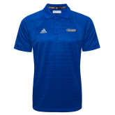 Adidas Climalite Royal Jaquard Select Polo-CSU Bakersfield Roadrunners