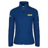 Columbia Ladies Full Zip Royal Fleece Jacket-2017 WAC Champions - Mens Basketball Stacked