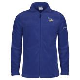 Columbia Full Zip Royal Fleece Jacket-Primary Logo Embroidery