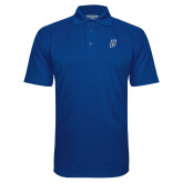 Royal Textured Saddle Shoulder Polo-B