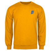Gold Fleece Crew-B Embroidery
