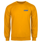Gold Fleece Crew-CSUB Embroidery