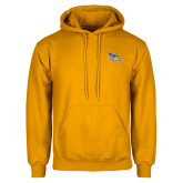 Gold Fleece Hoodie-Primary Logo Embroidery