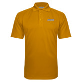 Gold Textured Saddle Shoulder Polo-CSU Bakersfield Roadrunners