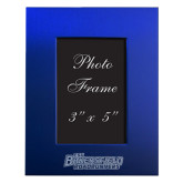 Royal Brushed Aluminum 3 x 5 Photo Frame-CSUB Engraved