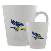 12oz Ceramic Latte Mug-Primary Logo
