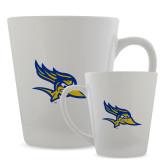 12oz Ceramic Latte Mug-Primary Logo