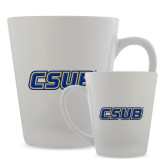 12oz Ceramic Latte Mug-CSUB
