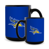 Full Color Black Mug 15oz-Primary Logo