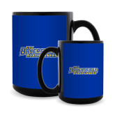 Full Color Black Mug 15oz-CSU Bakersfield Roadrunners