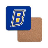 Hardboard Coaster w/Cork Backing-B