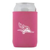 Neoprene Hot Pink Can Holder-Primary Logo
