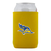 Collapsible Gold Can Holder-Primary Logo
