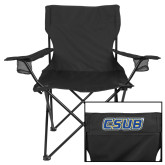 Deluxe Black Captains Chair-CSUB