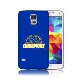 Galaxy S5 Phone Case-2017 Western Athletic Conference Champions - Mens Basketball Half Ball