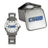 Mens Stainless Steel Fashion Watch-CSUB