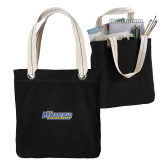 Allie Black Canvas Tote-CSU Bakersfield Roadrunners