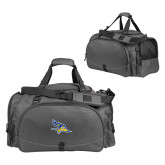 Challenger Team Charcoal Sport Bag-Primary Logo