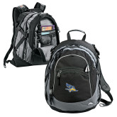 High Sierra Black Titan Day Pack-Primary Logo Embroidery