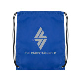 Royal Drawstring Backpack-The Carlstar Group