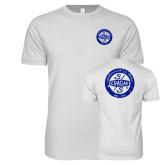 Next Level SoftStyle White T Shirt-Cragar 50th Anniversary