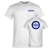 White T Shirt-Cragar Classic