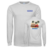White Long Sleeve T Shirt-Cragar Classic