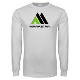 White Long Sleeve T Shirt-Marastar