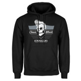 Black Fleece Hoodie-The King