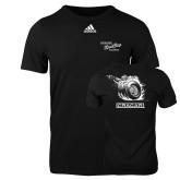 Adidas Black Logo T Shirt-Cragar Speed Shop