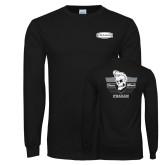 Black Long Sleeve T Shirt-Cragar