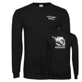Black Long Sleeve T Shirt-Cragar Speed Shop