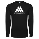 Black Long Sleeve T Shirt-Marastar