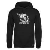 Russell DriPower Black Fleece Hoodie-Smoking Wheel