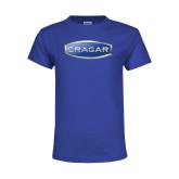 Youth Royal T Shirt-Cragar