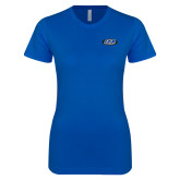Next Level Ladies SoftStyle Junior Fitted Royal Tee-ITP