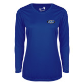 Ladies Syntrel Performance Royal Longsleeve Shirt-ITP