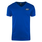Next Level V Neck Royal T Shirt-ITP