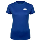 Ladies Syntrel Performance Royal Tee-Cragar