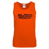 Orange Tank Top-Black Rock