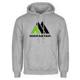 Grey Fleece Hoodie-Marastar