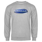 Grey Fleece Crew-Cragar