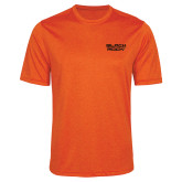 Performance Orange Heather Contender Tee-Black Rock